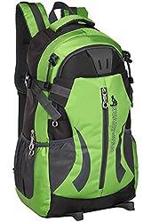 Generic Waterproof Hiking Backpack 35L (Green)