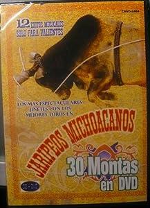 Jaripeos Michoacanos - 12 Exitos Musicales Solo Para Valientes - DVD & CD