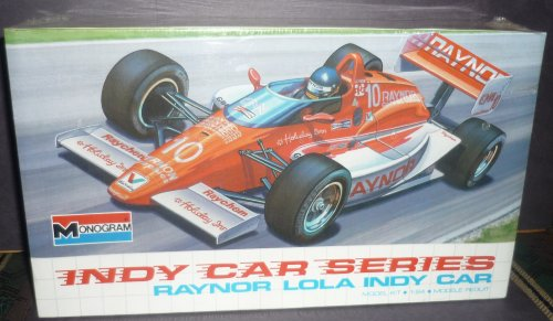 #2909 Monogram Indy Car Series Raynor Lola Indy Car 1/24 Scale Plastic Model Kit (Indycar Model compare prices)