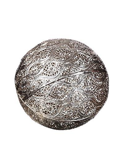 Concept Luxury Elemento Decorativo Ball Plata