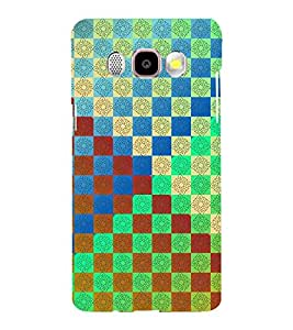 MULTICOLOURED TRADITIONAL CHECK PATTERN 3D Hard Polycarbonate Designer Back Case Cover for Samsung Galaxy J5 (2016) :: Samsung Galaxy J510F :: Samsung Galaxy J5 (2016) Duos with dual-SIM card slots