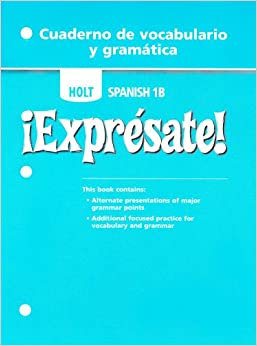 Amazon.com: Expresate, Level 1B: Cuaderno de Vocabulario Y ...