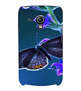 PrintVisa Butterfly Design 3D Hard Polycarbonate Designer Back Case Cover for Samsung Galaxy S3 Mini