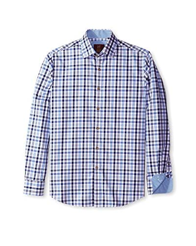 James Tattersall Men's Trotter Plaid Shirt