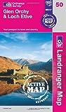 Glen Orchy and Loch Etive (OS Landranger...