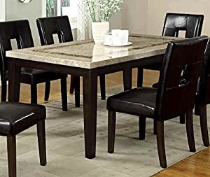Amazon com faux marble table top dining table tables