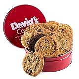 David's Cookies Fresh Baked Cookies 1 Lb. Gift Tin