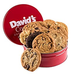David\'s Cookies Fresh Baked Cookies 1 Lb. Gift Tin