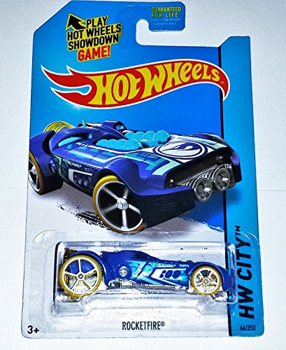2015 Hot Wheels Treasure Hunt Hw City - RocketFire - 1