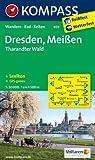 Dresden - Meißen - Tharandter Wald: Wanderkarte mit KOMPASS-Lexikon, Rad- und Reitwegen. GPS-genau. 1:50000