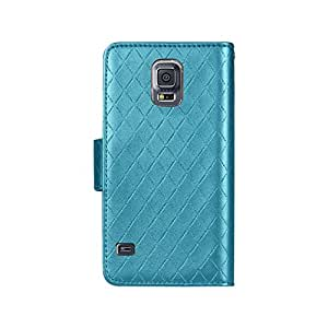 Reiko Wallet Case for Samsung Galaxy S5 - Retail Packaging - Blue