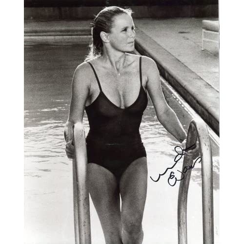 LINDA EVANS signed sexy swimsuit 8x10 photo / UACC RD # 212 at Amazon