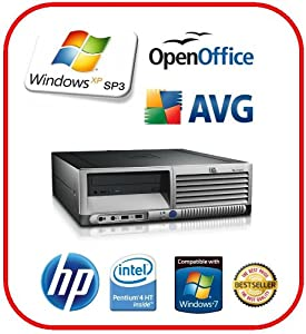 HP COMPAQ DC7100 Fast Desktop PC 40GB-HDD 1GB-Ram + XP-Professional installed
