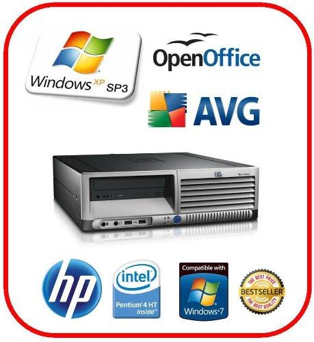 HP COMPAQ DC7100 Fast Desktop PC 40GB-HDD 1GB-Ram + XP-Professional installed