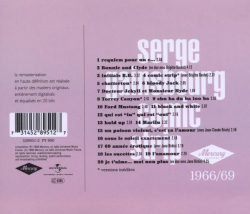 Serge Gainsbourg Comicstrip