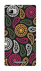 SWAG my CASE PRINTED BACK COVER FOR LENOVO VIBE Z K910 Multicolor