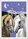 Ravensburger Malen nach Zahlen 28024 - Pferdeliebe, Malset von Ravensburger Spieleverlag