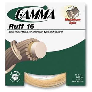 Buy Gamma Ruff 16G Tennis String, Natural by Gamma