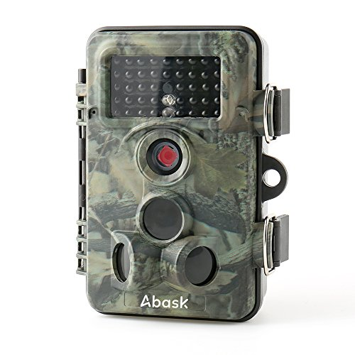 Wildlife-Camera-ABASK-Trail-Surveillance-Waterproof-Digital-Camera-3-Zone-Infrared-Sensor-12MP-1080P-HD-With-Time-Lapse-65ft-120-Wide-Angle-Night-Vision-For-Game-Hunting