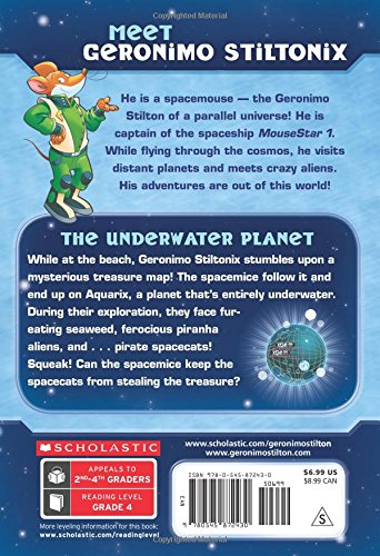 The Underwater Planet (Geronimo Stilton Spacemice)