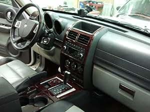 Dodge nitro interior burl wood dash trim kit - 2008 dodge charger interior trim ...