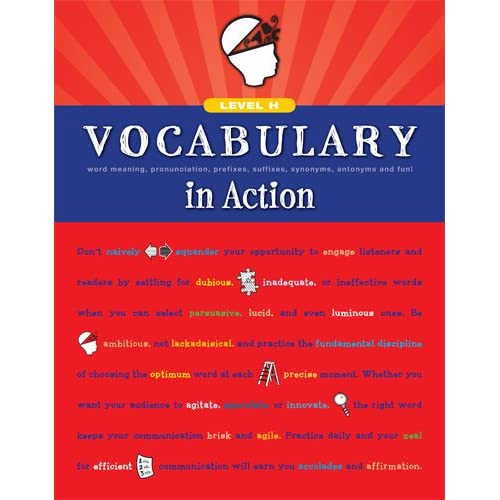 Vocabulary in Action Level H: Word Meaning, Pronunciation, Prefixes,