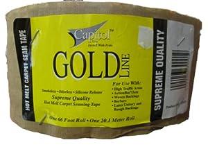 Gold Capitol Carpet Seam Tape Amazon Com