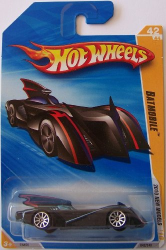 Hot Wheels 2010-049/214 HW Premiere 49/52 Batmobile 1:64 Scale