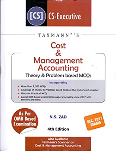 Cost & Management Accounting-Theory & Problem based MCQs (