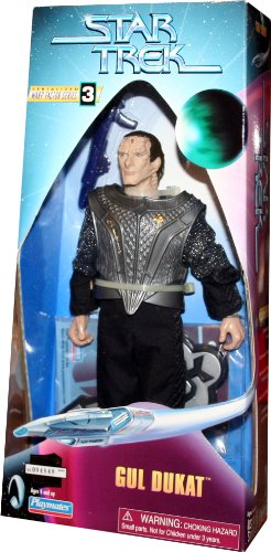 GUL DUKAT Star Trek: Deep Space Nine * 9 INCH * Warp Factor Series 3 Fully Ar...