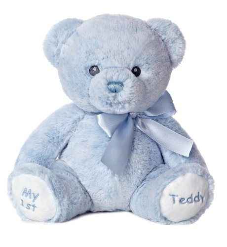 Aurora-World-Baby-My-1st-Teddy-Bear-Plush-Blue-12-Tall