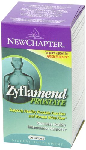 New Chapter新章 Zyflamend Prostate前列腺保健软胶囊图片
