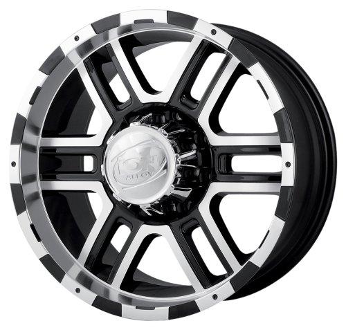 Ion Alloy 179 Black Machined Wheel (17x8