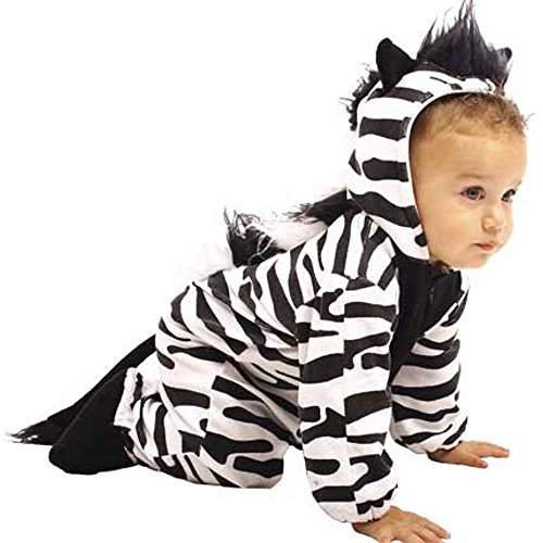 Unique Child's Infant Baby Zebra Costume (12 Months)