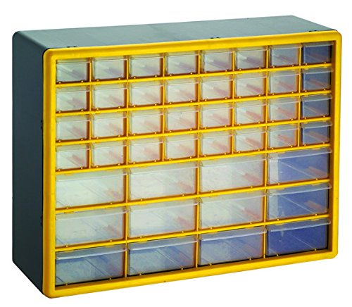 GFORGE HL3045-D 44 Drawer Heavy Duty Plastic Parts Organizer Drawer And Storage Box (Nut Bolt Storage compare prices)