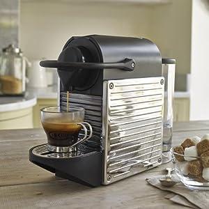 Nespresso® Krups Stainless Steel Pixie Coffee Machine