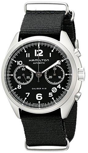 [ハミルトン]HAMILTON 腕時計 Khaki Pilot Pioneer(カーキ パイロット パイオニア) オートクロノ H76456435 メンズ 【正規輸入品】