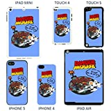 Danger Mouse & Mighty Mouse cover case for Apple iPhone 4 - 4S - T778 - Danger Mouse & Penfold - White