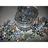 20+ Glass Flower/Daisy Screens For Pipes [20 Pcs w/ Small Container]