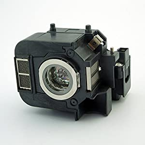 CTLAMP Replacement lamp ELP-LP50 / V13H010L50 with housing for Epson EB-824 / EB-825 / EB-826W / EB-84 Projectors from CTLAMP