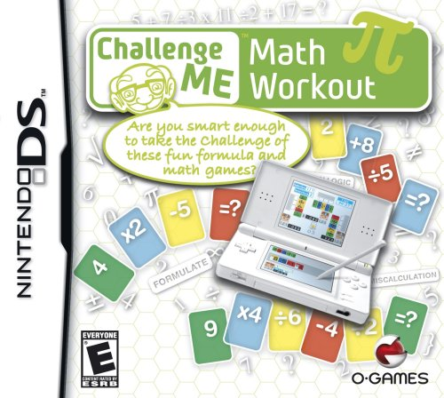 Challenge Me Math Workout - Nintendo DS - 1