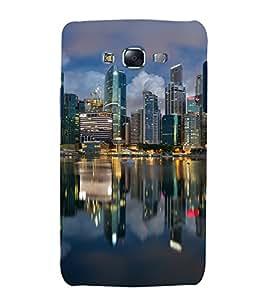 printtech City Building Lights Back Case Cover for Samsung Galaxy Core i8262 / Samsung Galaxy Core i8260