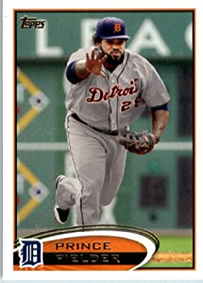 2012 Topps Baseball Card #650 Prince Fielder - Detroit Tigers - MLB Trading Card
