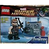 LEGO Super Heroes: Hawkeye Mit Equipment Setzen 30165 (Beutel)