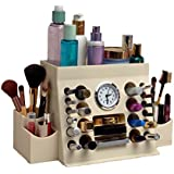 Lips n Eyes Two Piece Makeup Organizer, 38.1 Ounce