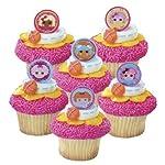 Decopac 24 Lalaloopsy Cupcake Party Favor Rings
