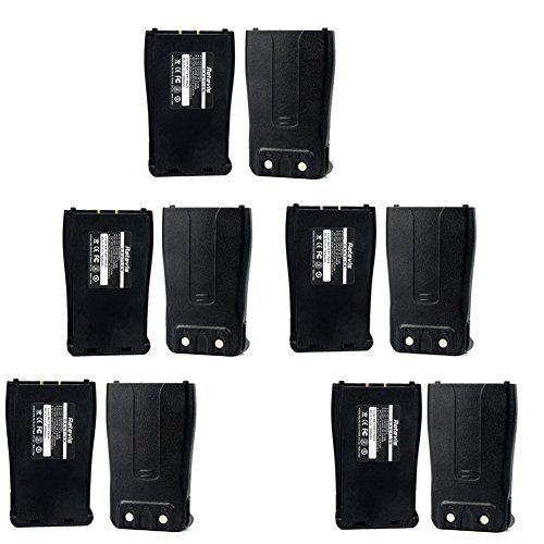 Retevis Replacement Li-ion Battery 1500mAh for Baofeng 777S/888S/666S Retevis H777 2 Way Radio Walkie Talkie (10 Pack)