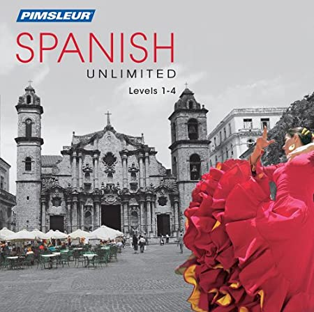 Pimsleur Spanish Unlimited 1-4