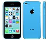 au iPhone 5c 32GB ブルー MF151J/A 白ロム Apple