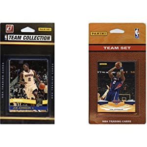 NBA 2 Different Licensed Trading Card Team Set Team: Los Angeles Clippers by C & I Collectibles